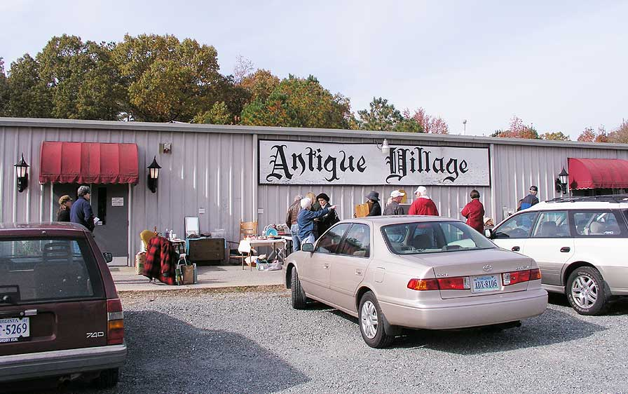 front of Antique Village building on us301, Chamberlayne Rd. Mechanicsville, VA 23116
